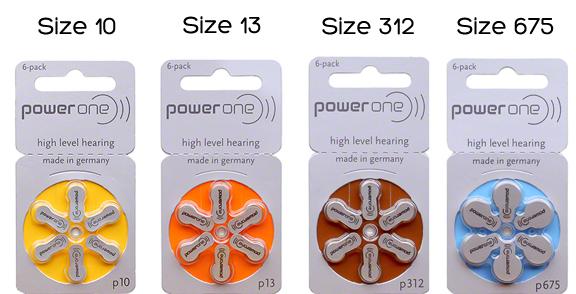 Baterai Alat Bantu Dengar Power One